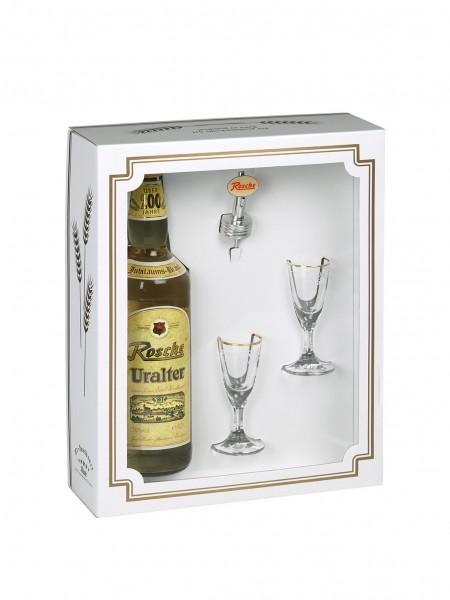Geschenkbox Variante 1 - ohne Flasche (bitte separat bestellen)