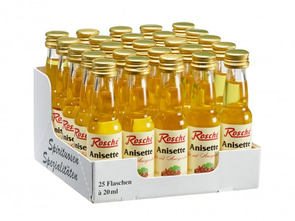 Anisette - 25 Flaschen à 20ml