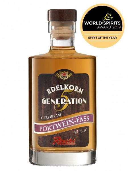 Edelkorn Generation 5 - gereift im Portwein-Fass