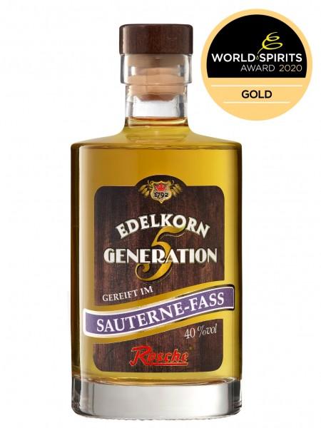 Edelkorn Generation 5 - gereift im Sauternes-Fass