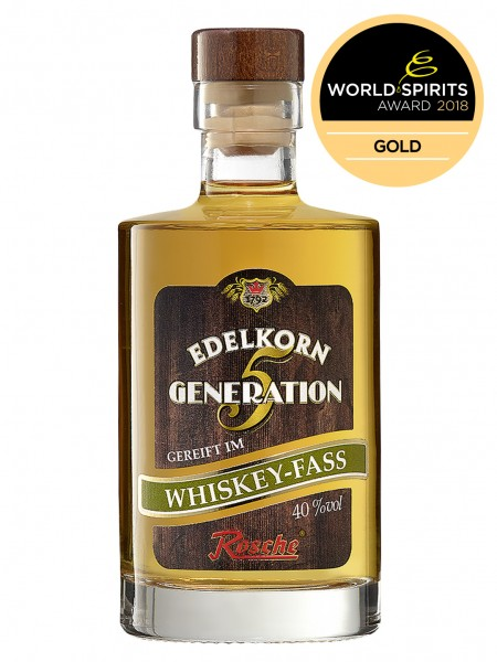 Edelkorn Generation 5 - gereift im Whiskey-Fass