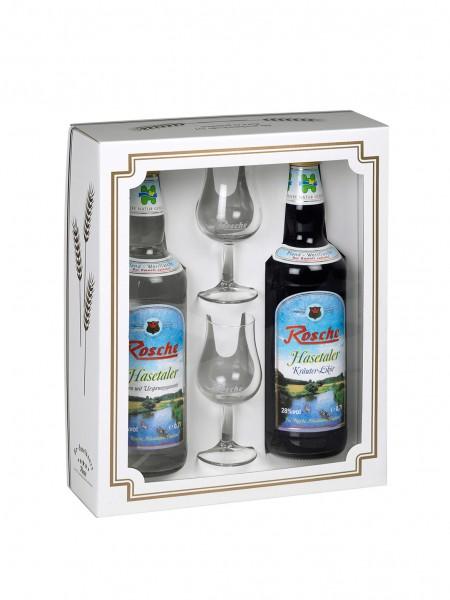 Geschenkbox Variante 2 - ohne Flasche (bitte separat bestellen)