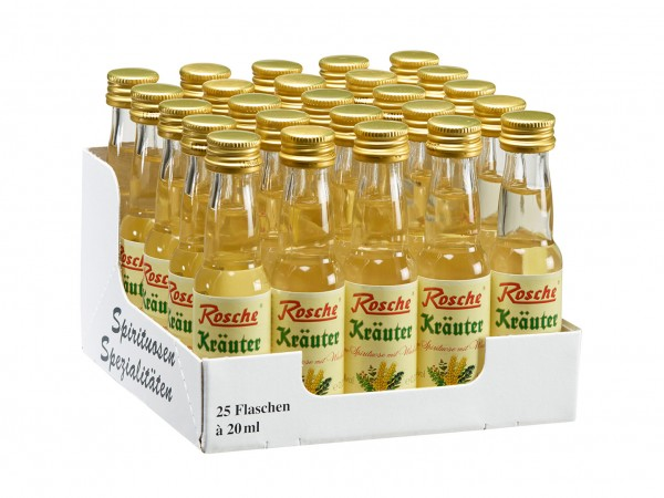 Kräuter mit Wacholder - 25 Flaschen à 20ml