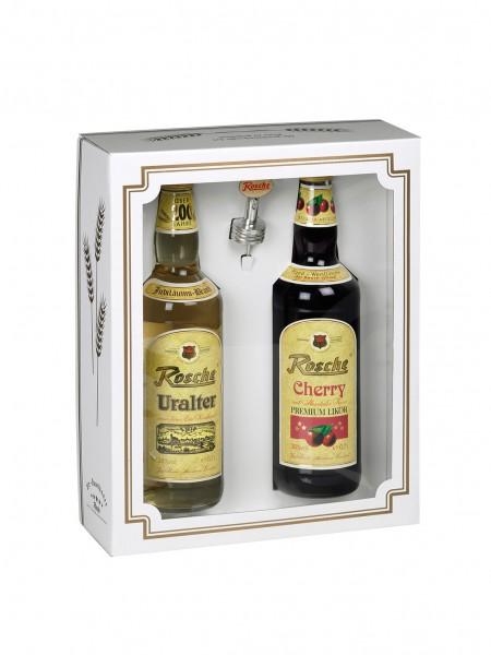 Geschenkbox Variante 3 - ohne Flasche (bitte separat bestellen)