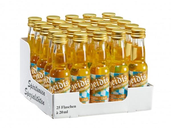 Heidis Gletschersünde - 25 Flaschen à 20ml