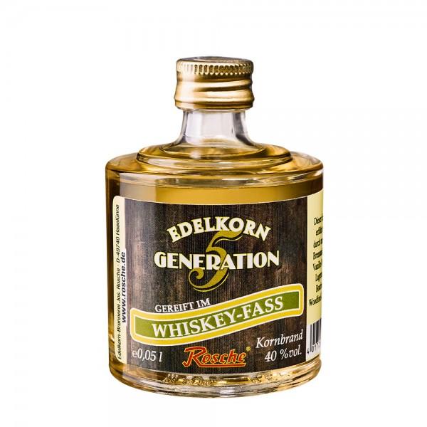 Probierflasche Edelkorn Generation 5 - gereift im Whiskey-Fass