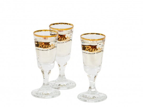 Rosche-Club-Glas 2 cl (6 er Set)