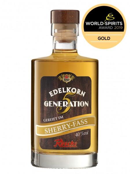 Edelkorn Generation 5 - gereift im Sherry Fass