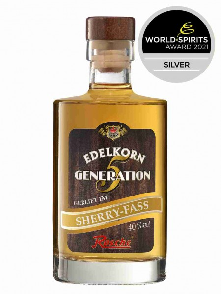 Edelkorn Generation 5 - gereift im Sherry-Fass